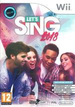 Let's Sing 2018 - Nintendo Wii