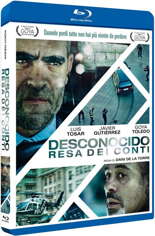 Desconocido. Resa dei conti (Blu-ray) di Dani de la Torre - Blu-ray