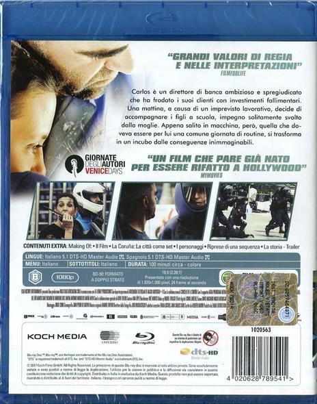 Desconocido. Resa dei conti (Blu-ray) di Dani de la Torre - Blu-ray - 2