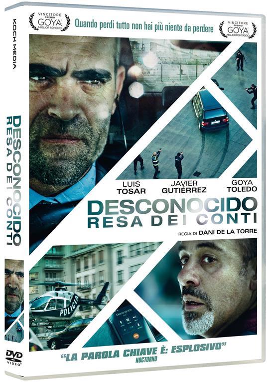 Desconocido. Resa dei conti (DVD) di Dani de la Torre - DVD