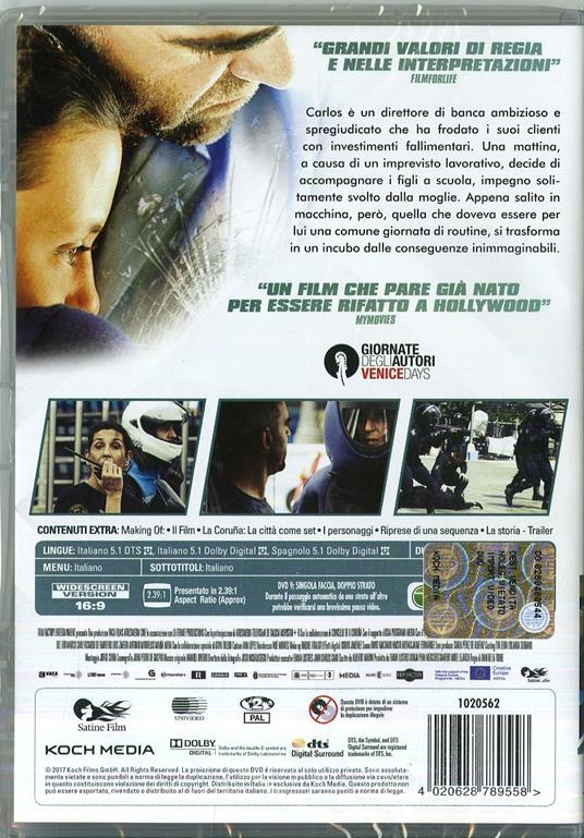 Desconocido. Resa dei conti (DVD) di Dani de la Torre - DVD - 2