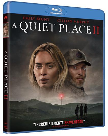 A Quiet Place II (Blu-ray) di John Krasinski - Blu-ray