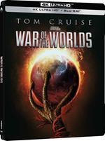 La guerra dei mondi. Steelbook (Blu-ray + Blu-ray Ultra HD 4K)