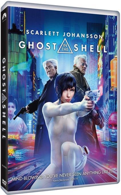 Ghost in the Shell (DVD) di Rupert Sanders - DVD