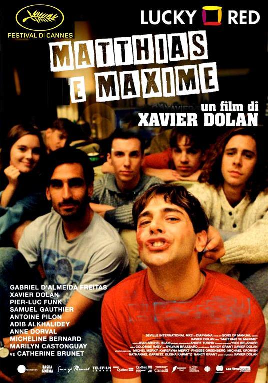 Matthias & Maxime (Blu-ray) di Xavier Dolan - Blu-ray