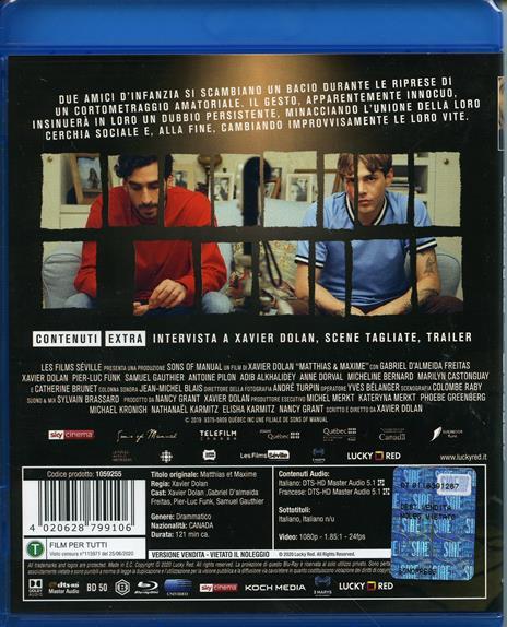 Matthias & Maxime (Blu-ray) di Xavier Dolan - Blu-ray - 2