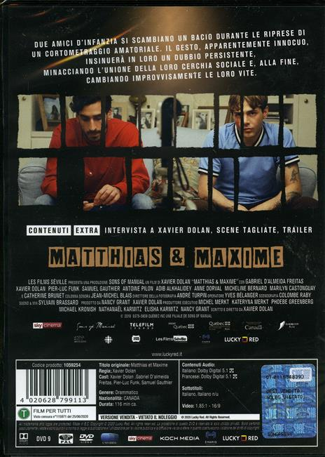 Matthias & Maxime (DVD) di Xavier Dolan - DVD - 2