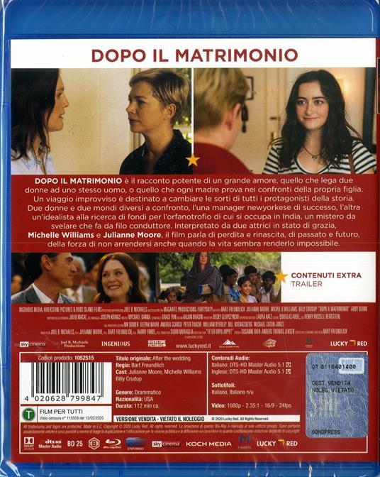 Dopo il matrimonio (Blu-ray) di Bart Freundlich - Blu-ray - 2