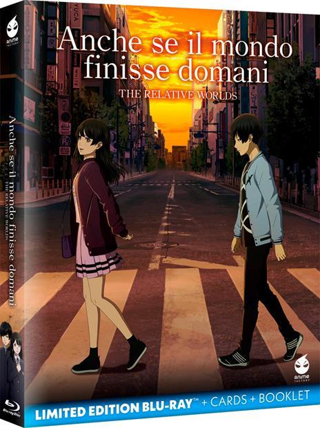 Anche se il mondo finisse domani. The Relative Worlds (Blu-ray) di Yuhei Sakuragi - Blu-ray