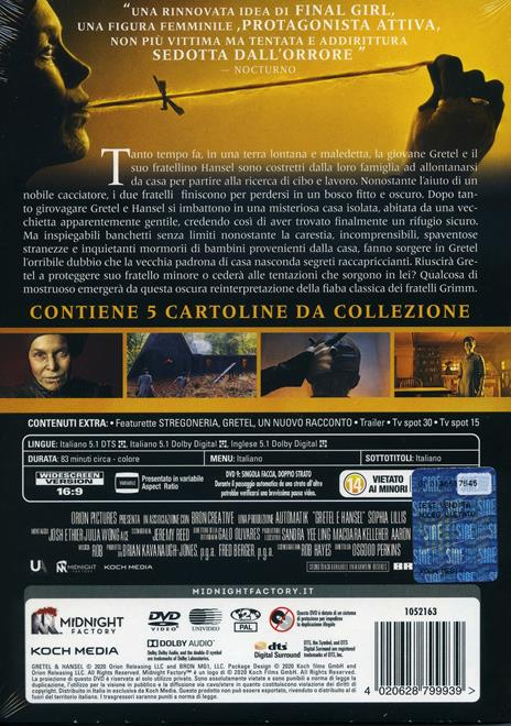Gretel e Hansel (DVD) di Oz Perkins - DVD - 3