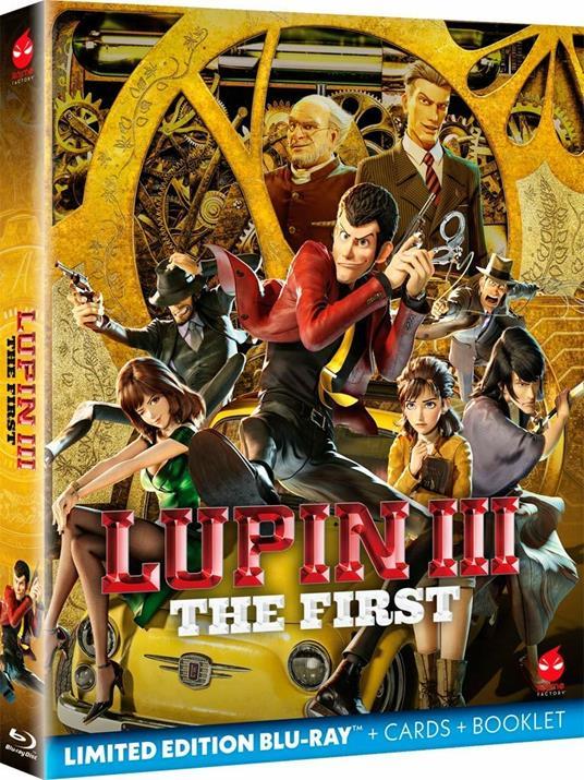 Lupin III. The First (Blu-ray) di Takashi Yamazaki - Blu-ray