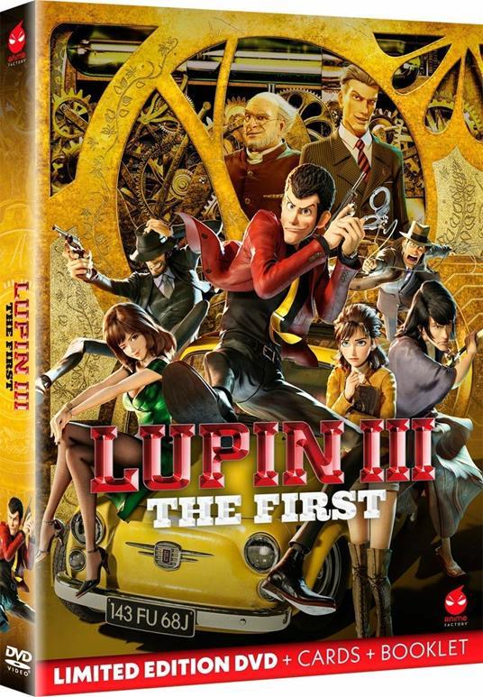 Lupin III. The First (DVD) di Takashi Yamazaki - DVD