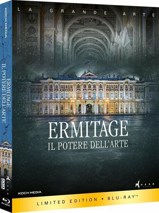 Ermitage. Il potere dell'arte (Blu-ray) di Toni Servillo - Blu-ray