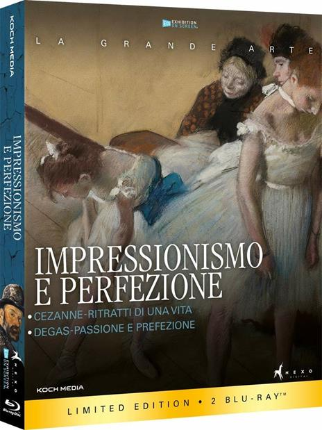 Impressionismo e perfezione (Blu-ray) di Trevor Allan Davies,Phillipe Cézanne - Blu-ray