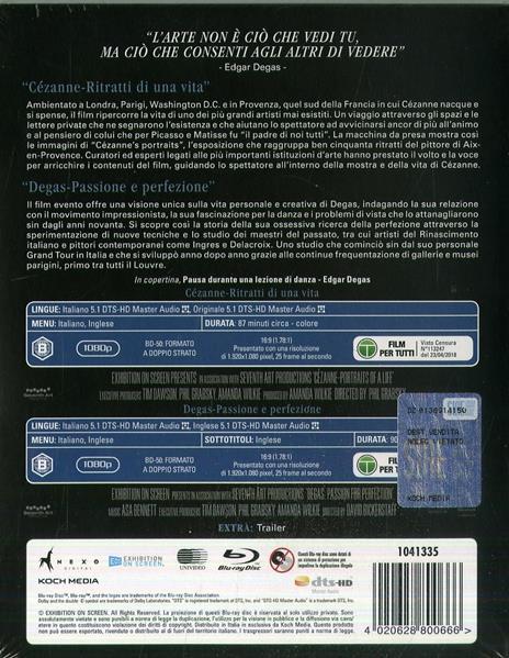 Impressionismo e perfezione (Blu-ray) di Trevor Allan Davies,Phillipe Cézanne - Blu-ray - 2