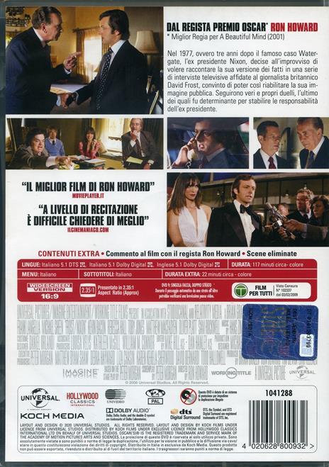 Frost Nixon. Il duello (DVD) di Ron Howard - DVD - 2