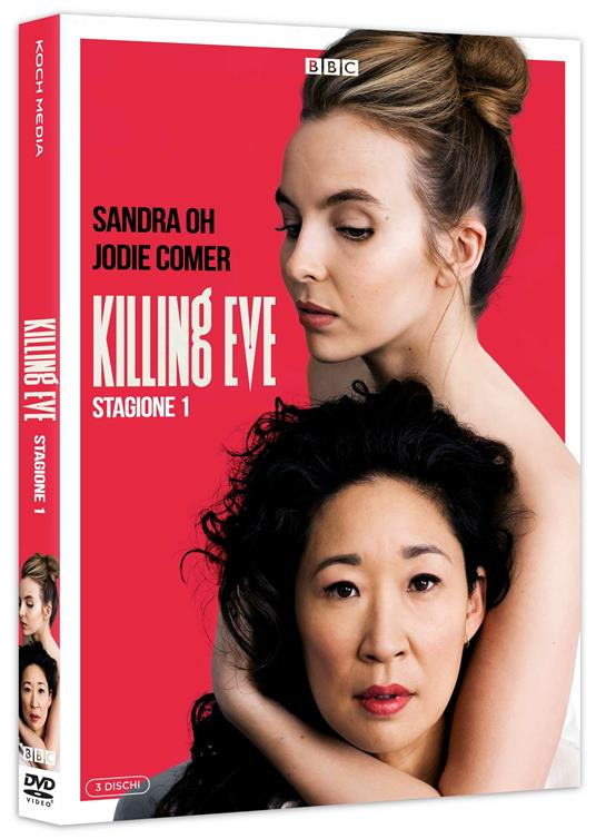 Killing Eve. Stagione 1. Serie TV ita (4 DVD) di Damon Thomas,Jon East,Harry Bradbeer - DVD