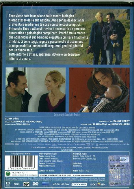 In mani sicure. Pupille (DVD) di Jean Herry - DVD - 2