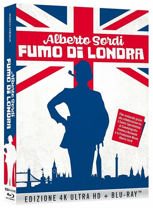 Fumo di Londra (Blu-ray + Blu-ray Ultra HD 4K) di Alberto Sordi - Blu-ray + Blu-ray Ultra HD 4K