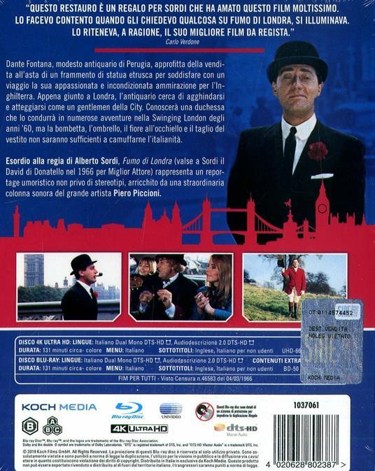 Fumo di Londra (Blu-ray + Blu-ray Ultra HD 4K) di Alberto Sordi - Blu-ray + Blu-ray Ultra HD 4K - 2