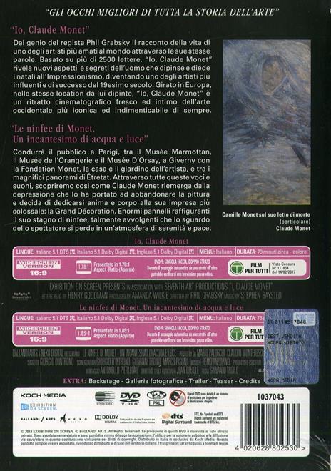 Monet (2 DVD) di Gianni Troilo,Phil Grabsky - DVD - 2
