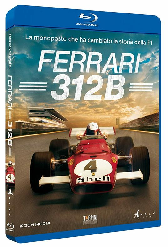 Ferrari 312b (Blu-ray) di Andrea Marini - Blu-ray