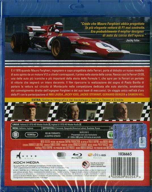 Ferrari 312b (Blu-ray) di Andrea Marini - Blu-ray - 2