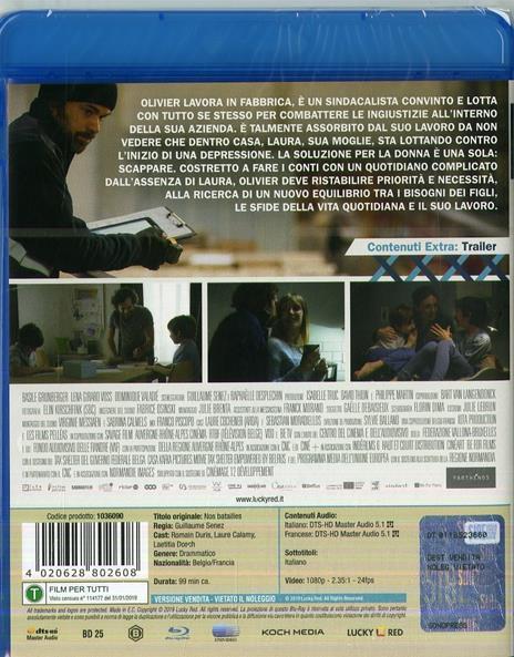 Le nostre battaglie (Blu-ray) di Guillaume Senez - Blu-ray - 2