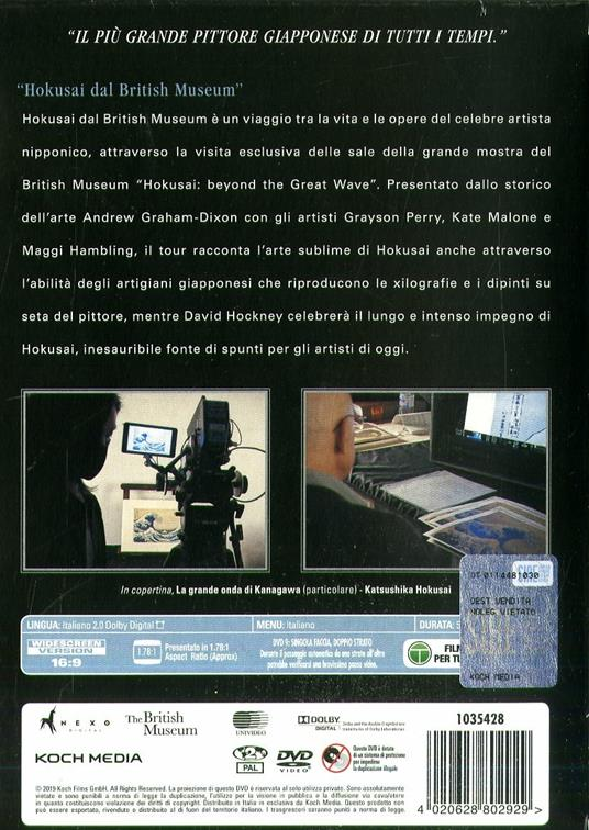 Hokusai dal British Museum (DVD) di Patricia Wheatley - DVD - 2