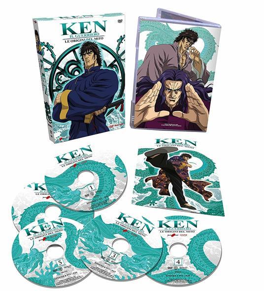 Ken Il Guerriero. Le origini del mito (5 DVD) di Yoshihiro Yamaguchi - DVD - 2
