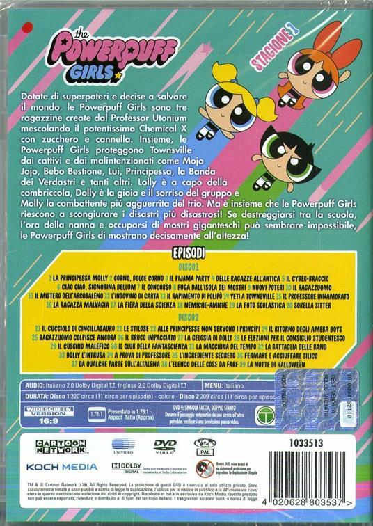 The Powerpuff Girls. Reboot (DVD) di Genndy Tartakovsky,John Mcintyre - DVD - 2