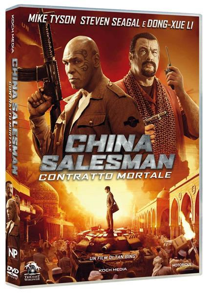China Salesman. Contratto mortale (DVD) di Tan Bing - DVD