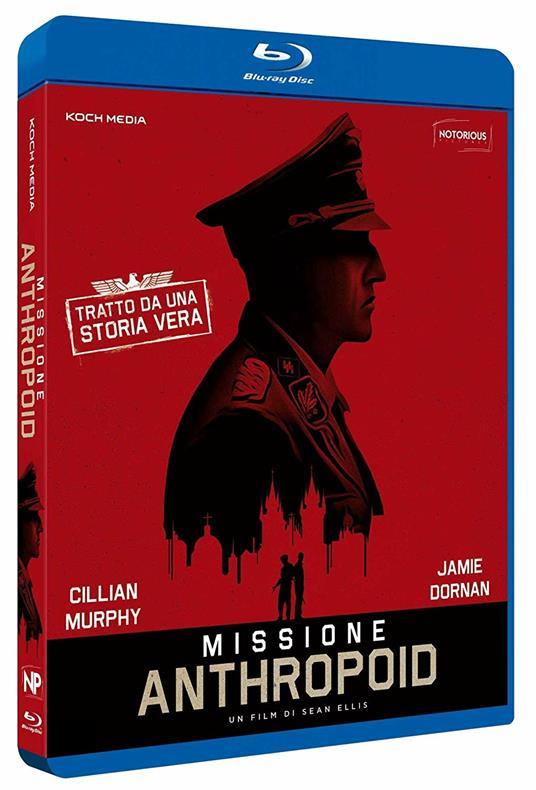 Missione Anthropoid (Blu-ray) di Sean Ellis - Blu-ray