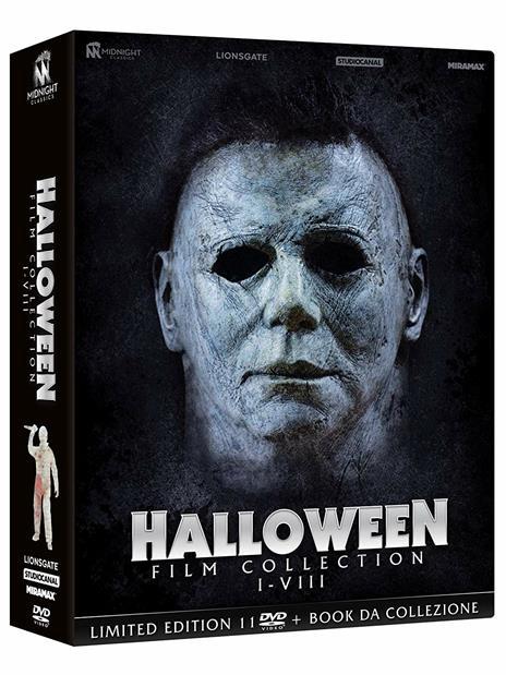 Cofanetto Halloween Film Collection (11 DVD) di John Carpenter,Steve Miner,Tommy Lee Wallace,Dwight H. Little,Rick Rosenthal,Joe Chappelle,Dominique Othenin-Girard