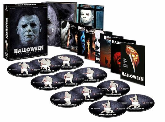 Cofanetto Halloween Film Collection (11 DVD) di John Carpenter,Steve Miner,Tommy Lee Wallace,Dwight H. Little,Rick Rosenthal,Joe Chappelle,Dominique Othenin-Girard - 2