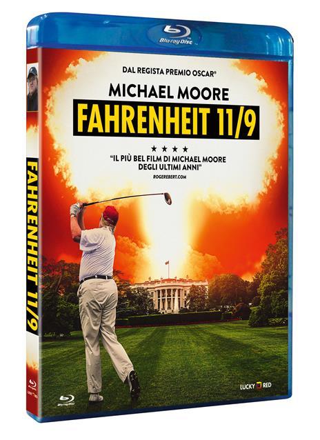 Fahrenheit 11/9 (Blu-ray) di Michael Moore - Blu-ray