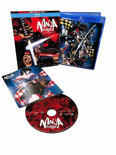 Ninja Scroll (Blu-ray) di Yoshiaki Kawajiri - Blu-ray - 2