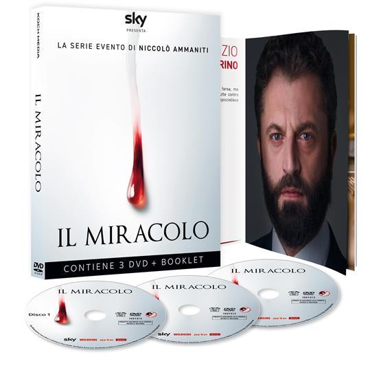Il miracolo. Serie TV ita. Con Booklet (3 DVD) di Francesco Munzi,Lucio Pellegrini - DVD