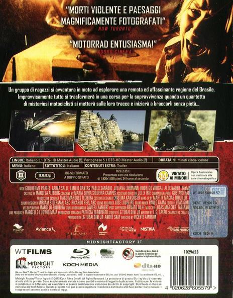 Motorrad (Blu-ray) di Vicente Amorim - Blu-ray - 2