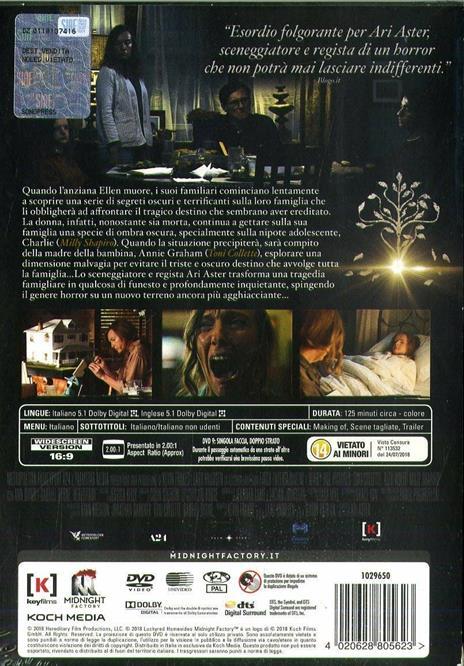 Hereditary. Le radici del male (DVD) di Ari Aster - DVD - 2