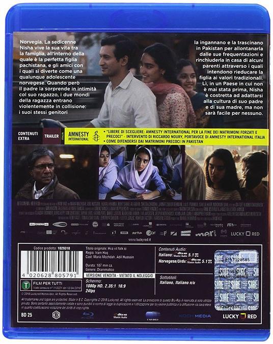 Cosa dirà la gente (Blu-ray) di Iram Haq - Blu-ray - 2