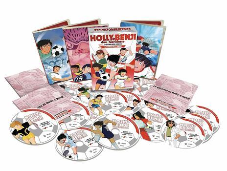 Holly e Benji. Due Fuoriclasse. La Seconda Serie Completa (15 DVD) di Hiroyoshi Mitsunobu - DVD - 2