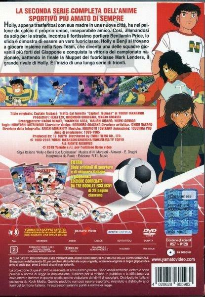 Holly e Benji. Due Fuoriclasse. La Seconda Serie Completa (15 DVD) di Hiroyoshi Mitsunobu - DVD - 3