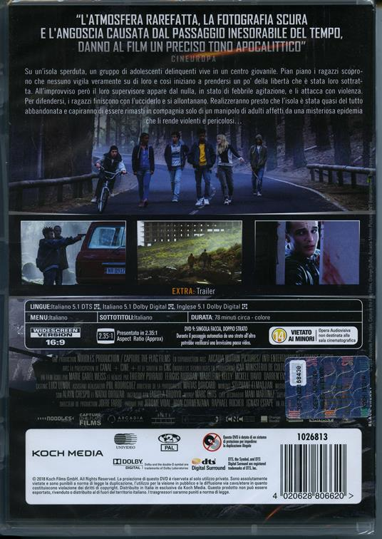 Don't Grow Up (DVD) di Thierry Poiraud - DVD - 2