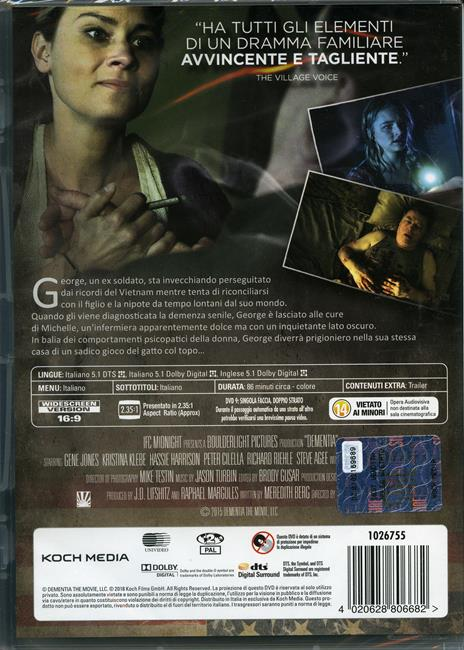 Dementia (DVD) di Mike Testin - DVD - 2