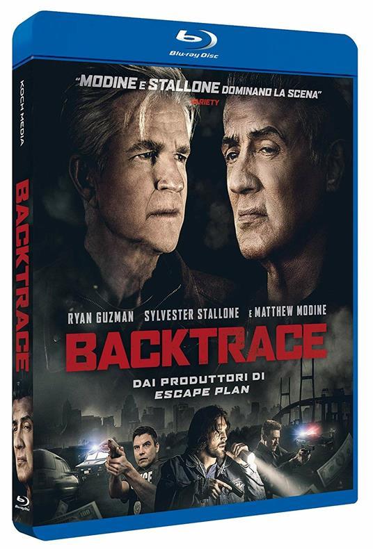 Backtrace (Blu-ray) di Brian A. Miller - Blu-ray
