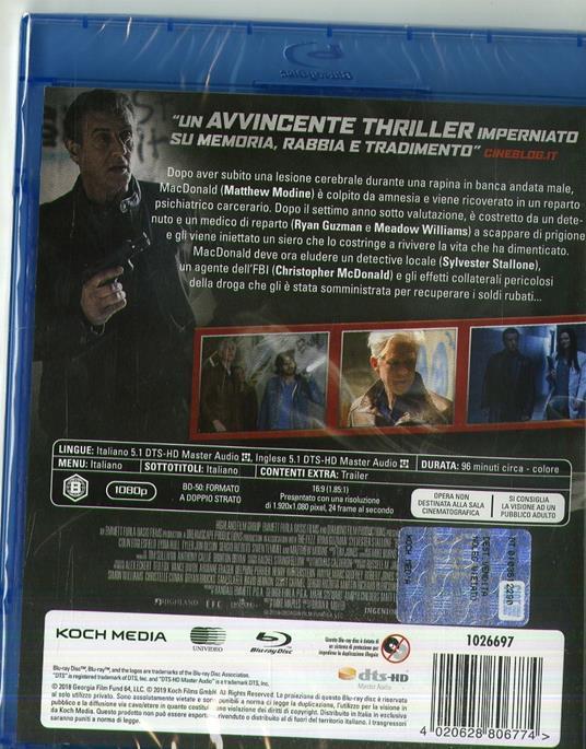 Backtrace (Blu-ray) di Brian A. Miller - Blu-ray - 2