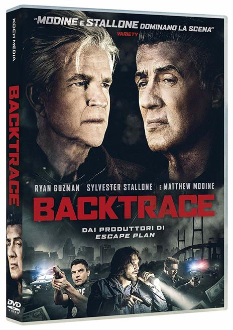 Backtrace (DVD) di Brian A. Miller - DVD