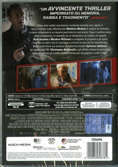 Backtrace (DVD) di Brian A. Miller - DVD - 2