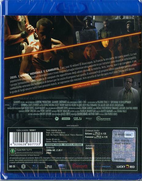 Ares (Blu-ray) di Jean-Patrick Benes - Blu-ray - 2